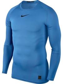 Nike Men's T-shirt Pro Top Compression LS 838077 412 Light Blue S