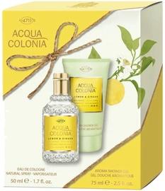 Komplekt naistele 4711 Acqua Colonia Lemon & Ginger 2pcs Set 125 ml EDC Unisex
