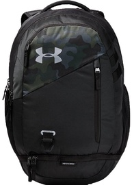 Under Armour Hustle 4.0 Backpack 1342651-290 Black Camouflage