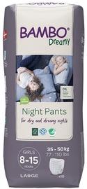 Mähkmed Bambo Dreamy Night Pants Girl 8-15, 10tk