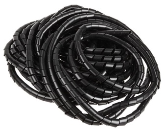 InLine Cable Shielding 10mm x 10m Black