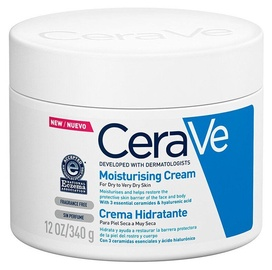 Cerave Moisturising Cream Dry To Very Dry Skin 340ml