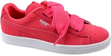 Puma Suede Heart Kids Shoes 365135-01 Pink 38.5
