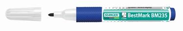 Stanger BestMark BM235 Whiteboard Marker Softgrip 10pcs Blue 714001