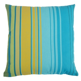 Home4you Salvador Pillow 62x62cm Turquoise/Yellow