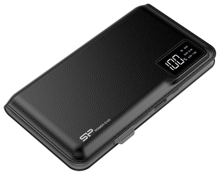 Väline aku Silicon Power S103 Black, 10000 mAh