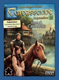Настольная игра Brain Games Carcassonne: Expansion 1 Inns & Cathedrals