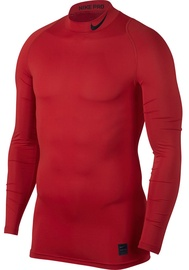 Nike Men's T-shirt Pro Cool Compression Mock LS 838079 657 Red XL