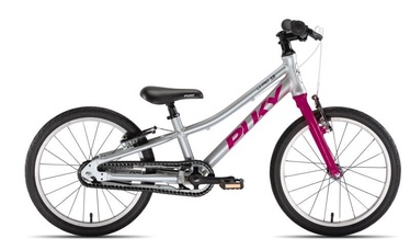 Laste jalgratas Puky LS-PRO 18-1 Silver/Pink