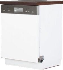 Bodzio Dishwasher Cabinet Front Panel Sandi 60cm White Gloss