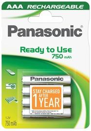 Panasonic Evolta P-03E rechargeable battery 4 x AAA 750mAh