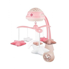 Canpol Babies 3in1 Musical Mobile With Projector Pink 75/100
