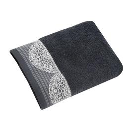 Domoletti Towel Limas 30x50cm Anthracite