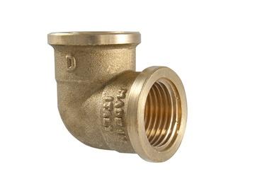 """TDM Brass Corner Joint V/V 1 1/4"""""""