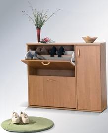Шкаф для обуви Maridex DRZWI Alder, 860x270x1020 мм