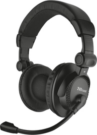 Trust Como Over-Ear Headset Black