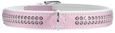 Hunter Collar Modern Art Deluxe 35 Light Pink/White