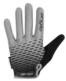 Force MTB Angle Gloves Gray/Black L