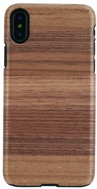Man&Wood Strato Back Case For Apple iPhone X/XS Black/Brown