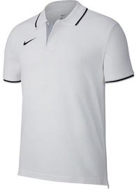 Nike Men's T-Shirt Polo Team Club 19 SS AJ1502 100 White M
