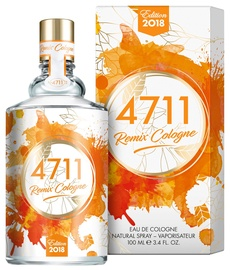 4711 Remix Cologne Orange 100ml EDC Unisex Limited Edition