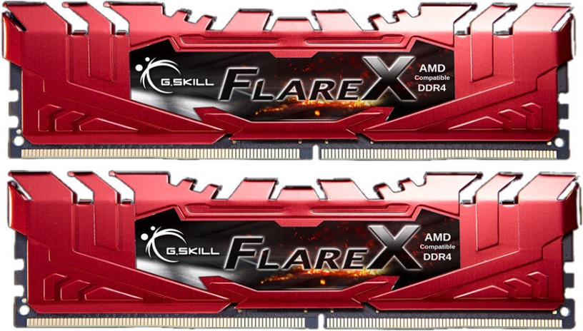 G.SKILL Flare X for AMD 16GB 2400MHz CL16 DDR4 KIT OF 2 F4-2400C16D-16GFXR