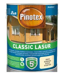 Puidukaitsevahend Pinotex Classic Lasur AE, pähkel 3L