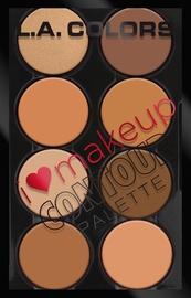 Палетка для контуринга лица L.A. Colors I Heart Makeup C30352, 29 г