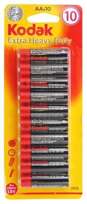 Kodak R06-10BB AA Batteries 10x