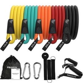 ProIron Exercise Resistance Bands 13pcs Set 160cm