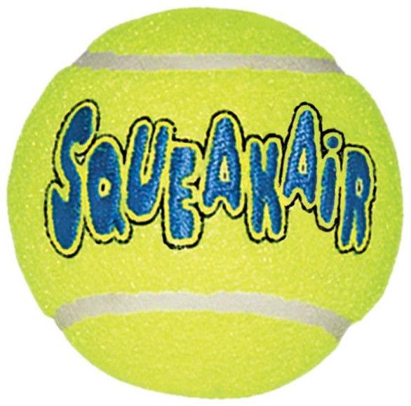 Kong Air Kong Squeaker Tennis Ball Large
