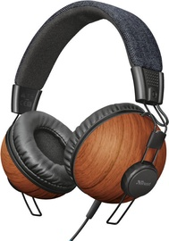 Trust Noma Over-Ear Headphones Denim Wood