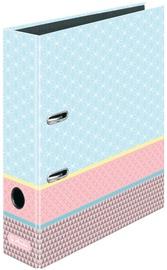 Herlitz Folder A4/8cm Graphic Pastels Blue/50009794
