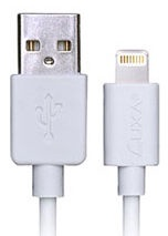 Thermaltake Luxa2 MFI Lightning To USB Cable 1m White