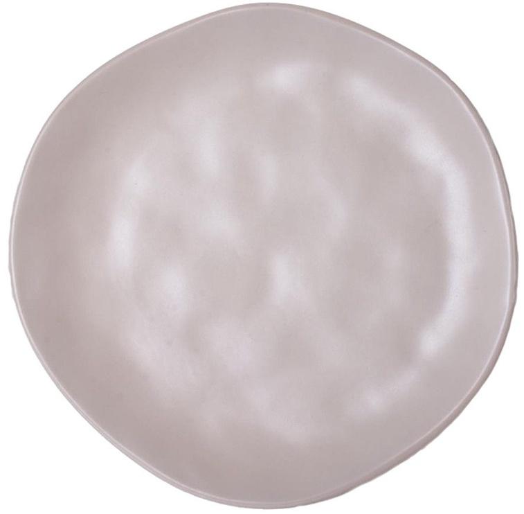 Bradley Ceramic Dessert Plate Organic 20cm Beige