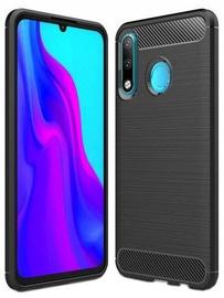 Hurtel Carbon Back Case For Huawei P30 Lite Black