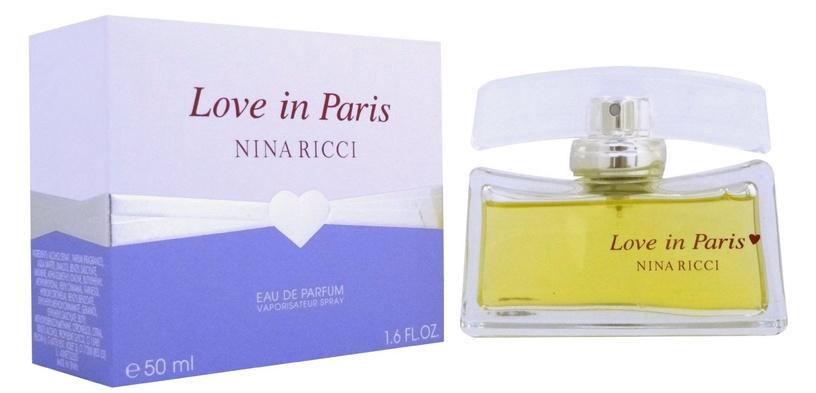 Parfüümid Nina Ricci Love in Paris 50ml EDP