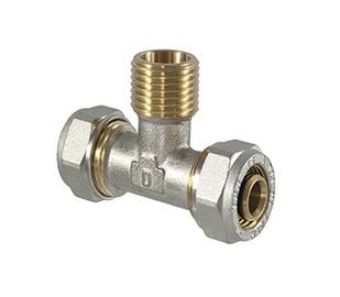 TDM Brass Tightening Fitting 1/2''x20mm