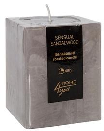 Home4you Candle Sensual Sandalwood 7.5x7.5xH10cm