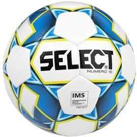 Select Numero 10 IMS 2019 Football White/Blue Size 5