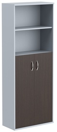 Skyland Imago Office Cabinet CT-1.6 Wenge Magic/Metallic