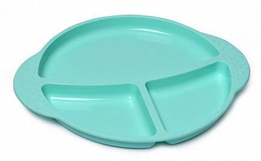 Fissman Kids Divided Plate 25х21cm Light Blue