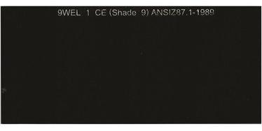 Vagner WH-GL2414 DIN9 Protective Welder Filter Black