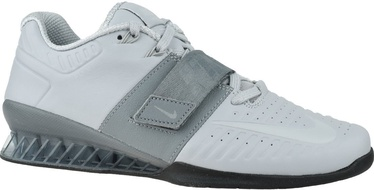 Nike Romaleos 3XD Shoes AO7987 010 White/Grey 44.5
