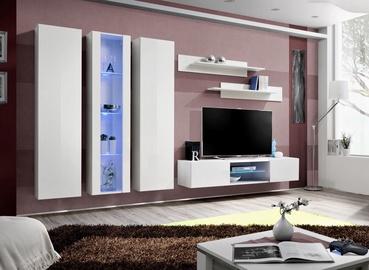 ASM Fly P4 Living Room Wall Unit Set White