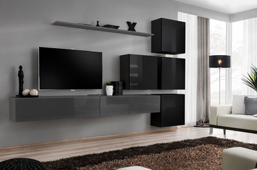 ASM Switch IX Wall Unit Graphite/Black