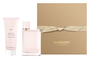 Burberry Burberry Her 50ml EDP + 75ml Body Lotion 2019