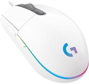 Игровая мышь Logitech G203 Prodigy, белый, проводная, оптическая
