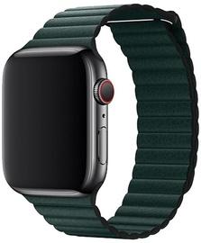Devia Elegant Leather Loop For Apple Watch 44mm Green