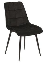 Söögitoa tool Signal Meble Chic Velvet Black, 1 tk